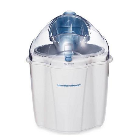 Right Hamilton Beach Ice Cream Maker