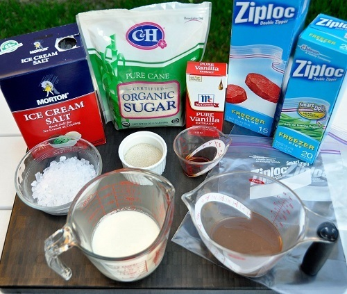 Ingredients for Your Homemade Ice Cream