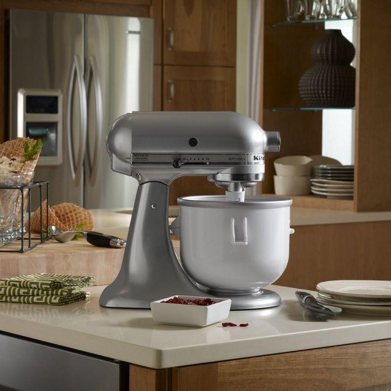 KitchenAid KICA0WH 2 Quart Ice Cream Maker
