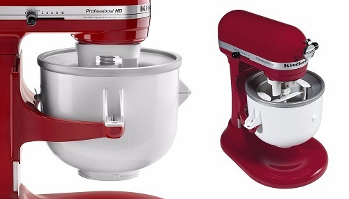 KitchenAid KICA0WH 2 Quart Ice Cream Maker