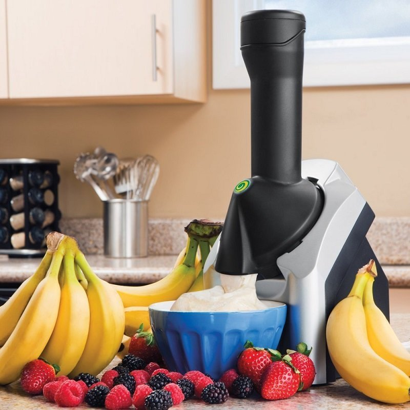 Yonanas Frozen Healthy Dessert Maker - 100% Fruit Soft-Serve Maker